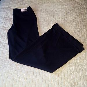NWT Black Wide Leg Trousers